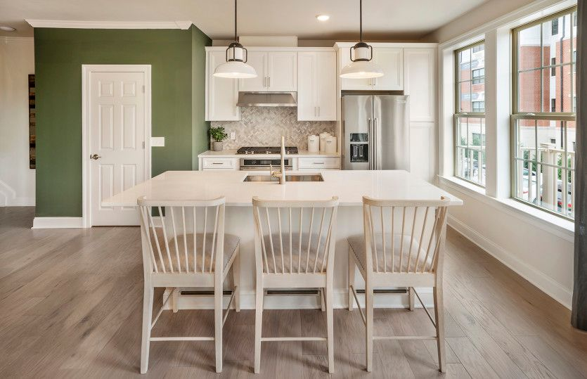 Kitchen featured in the Greenwich By Pulte Homes in Somerset County, NJ