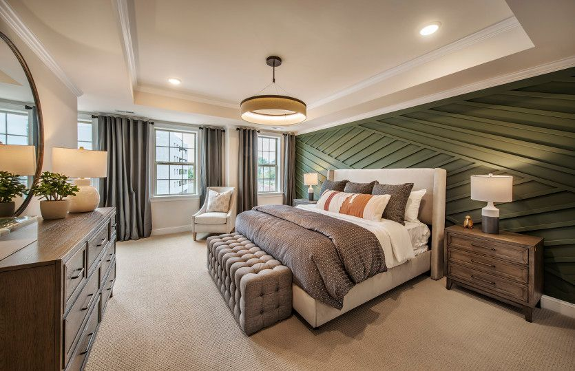 Bedroom featured in the Greenwich By Pulte Homes in Somerset County, NJ