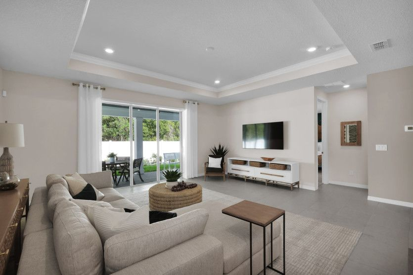 Living Area featured in the Spruce By Pulte Homes in Jacksonville-St. Augustine, FL