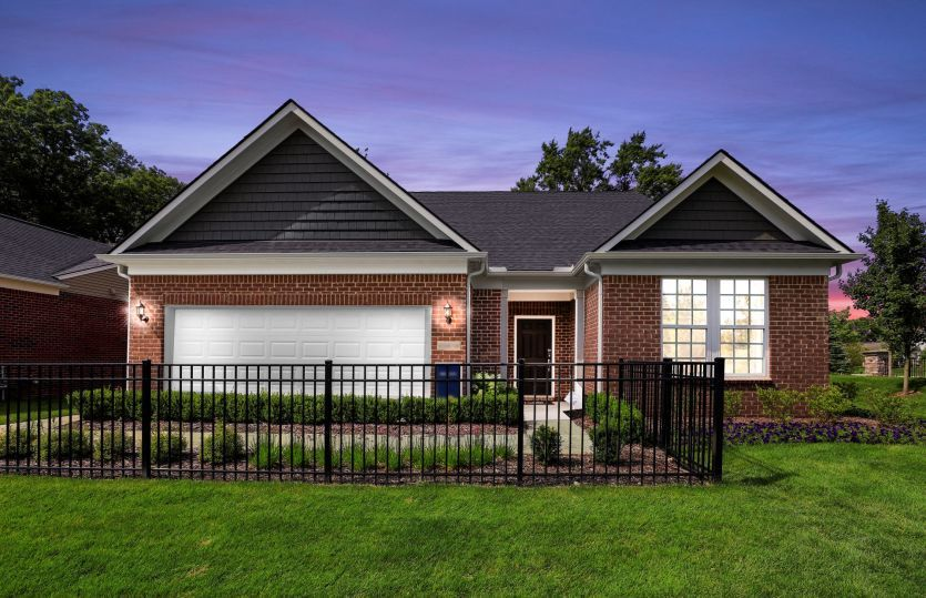Exterior featured in the Bedrock By Pulte Homes in Detroit, MI