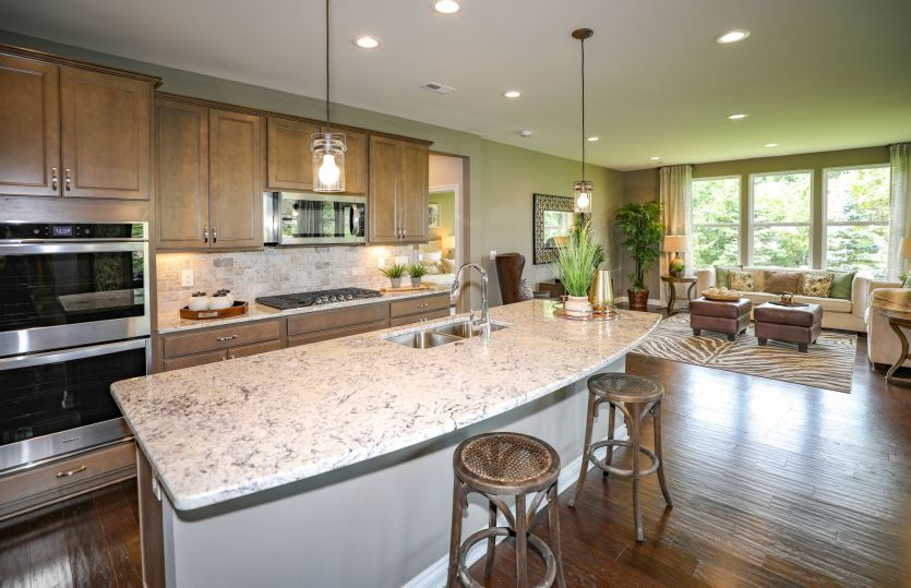 Kitchen featured in the Bedrock By Pulte Homes in Detroit, MI
