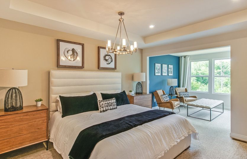 Bedroom featured in the Ashton with Basement By Pulte Homes in Detroit, MI