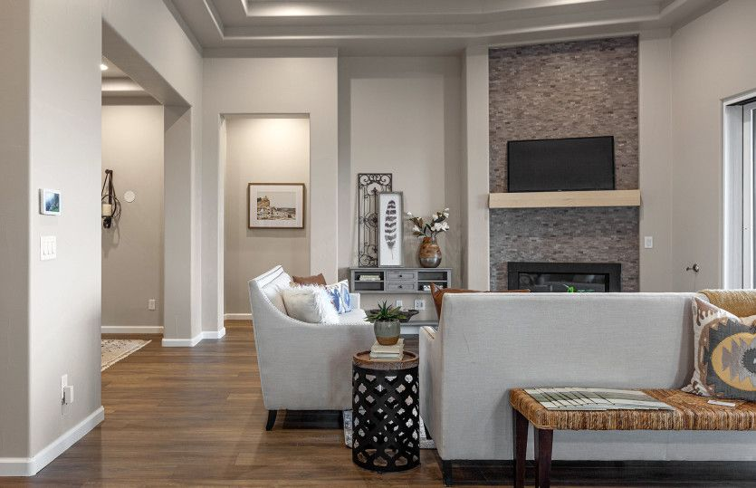 Living Area featured in the Catalina By Pulte Homes in Santa Fe, NM