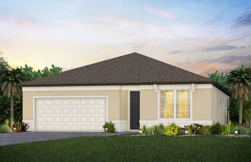 Exterior featured in the Highgate By Pulte Homes in Tampa-St. Petersburg, FL