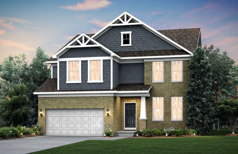 Exterior featured in the Waverly By Pulte Homes in Detroit, MI