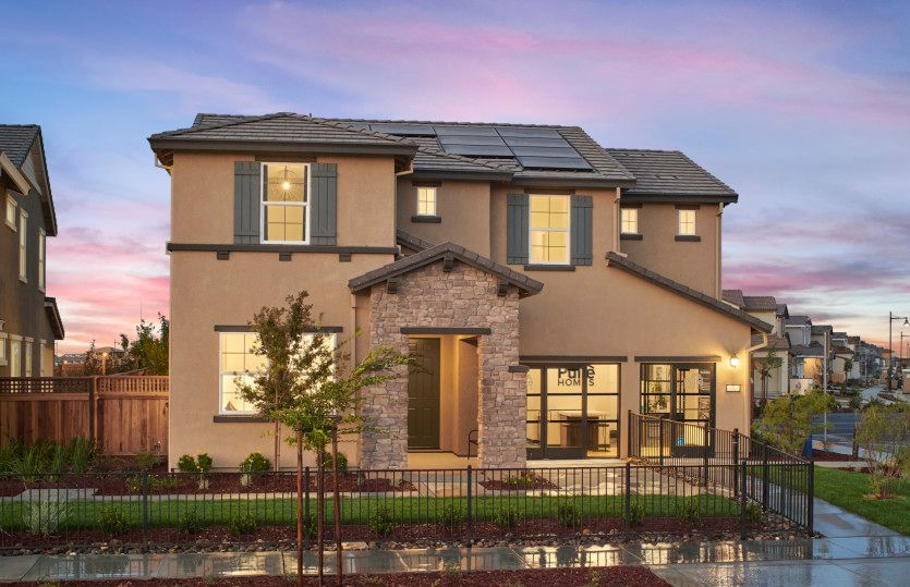 Exterior featured in the Quincy By Pulte Homes in Stockton-Lodi, CA