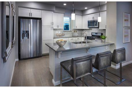 Kitchen-in-Plan 1-at-Rows at Metro-in-Milpitas