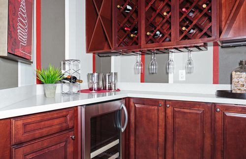 Wet-Bar-in-Heatherton-at-The Preserve at Palm Valley-in-Ponte Vedra Beach
