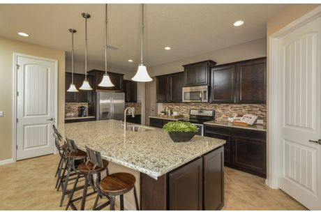 Kitchen-in-Mariner-at-Retreat at Lake Brantley-in-Longwood