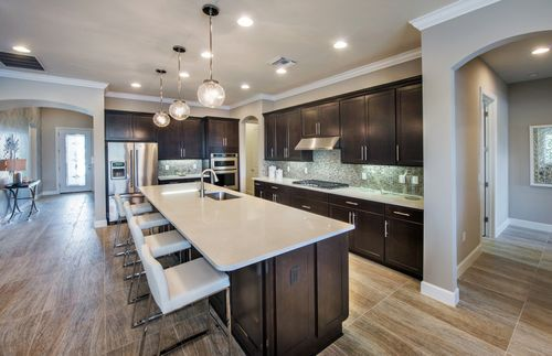 Kitchen-in-Nobility-at-Greyhawk at Golf Club of the Everglades-in-Naples