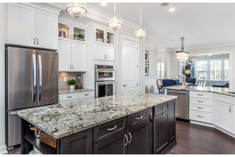 Kitchen-in-Tangerly Oak-at-Muirfield-in-Cary