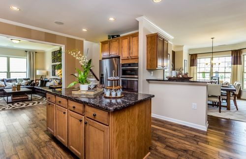 Kitchen-in-Sonoma Cove-at-Muirfield-in-Cary