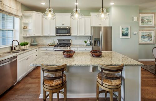 Kitchen-in-Allaire-at-Harborside at Hudson's Ferry-in-Highlands