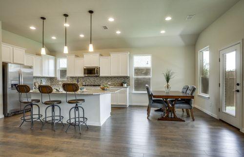 Kitchen-in-McKinney-at-Walnut Creek-in-Rosenberg