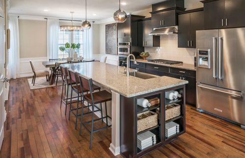 Kitchen-in-Fairwood-at-Livingston Square-in-Livingston