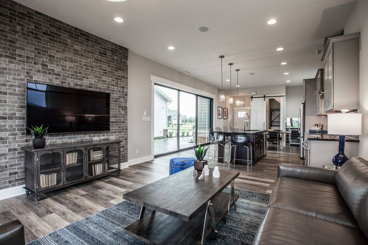 Living Area featured in the Brooklyn By Finecraft in Indianapolis, IN