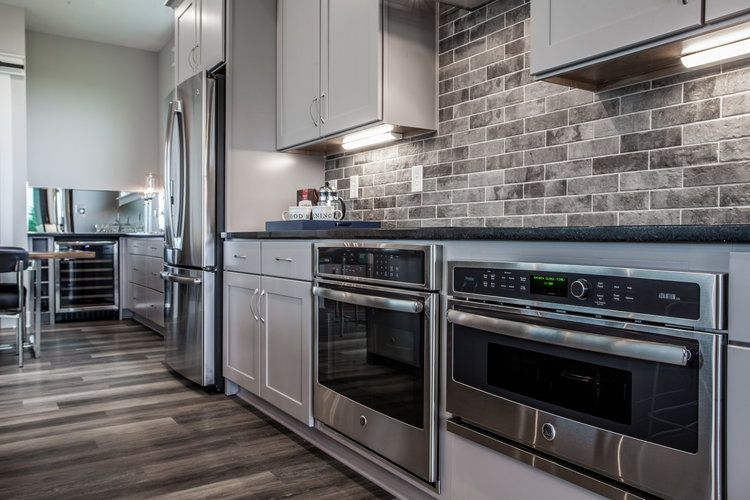 Kitchen featured in the Brooklyn By Finecraft in Indianapolis, IN