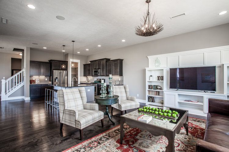 Living Area featured in the Georgetown By Finecraft in Indianapolis, IN