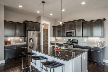 Kitchen-in-Georgetown-at-The Grove at Legacy-in-Carmel