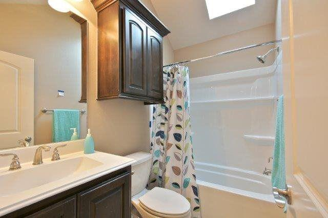 Bathroom featured in the Plan 1577 By Pyramid Homes in Tyler, TX