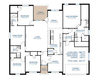 Plan 2487 - Oasis South: Flint, Texas - Pyramid Homes