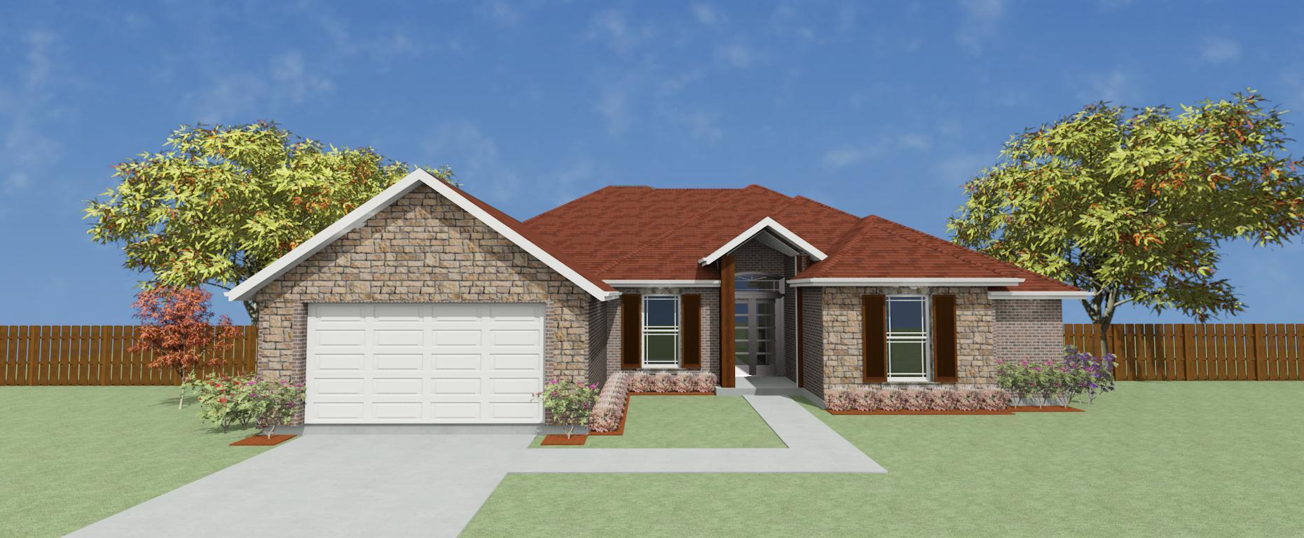Exterior featured in the Plan 2289 By Pyramid Homes in Longview, TX