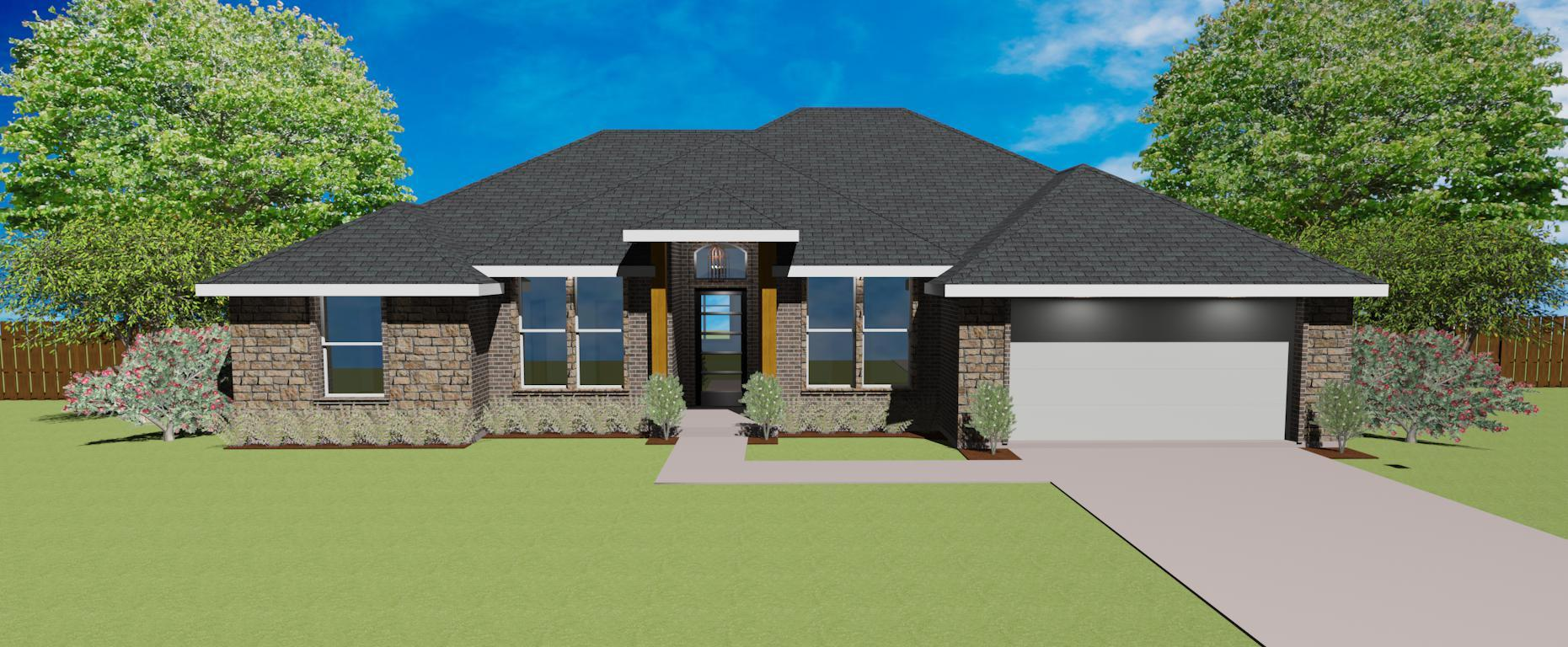 Exterior featured in the Plan 2100 By Pyramid Homes in Tyler, TX