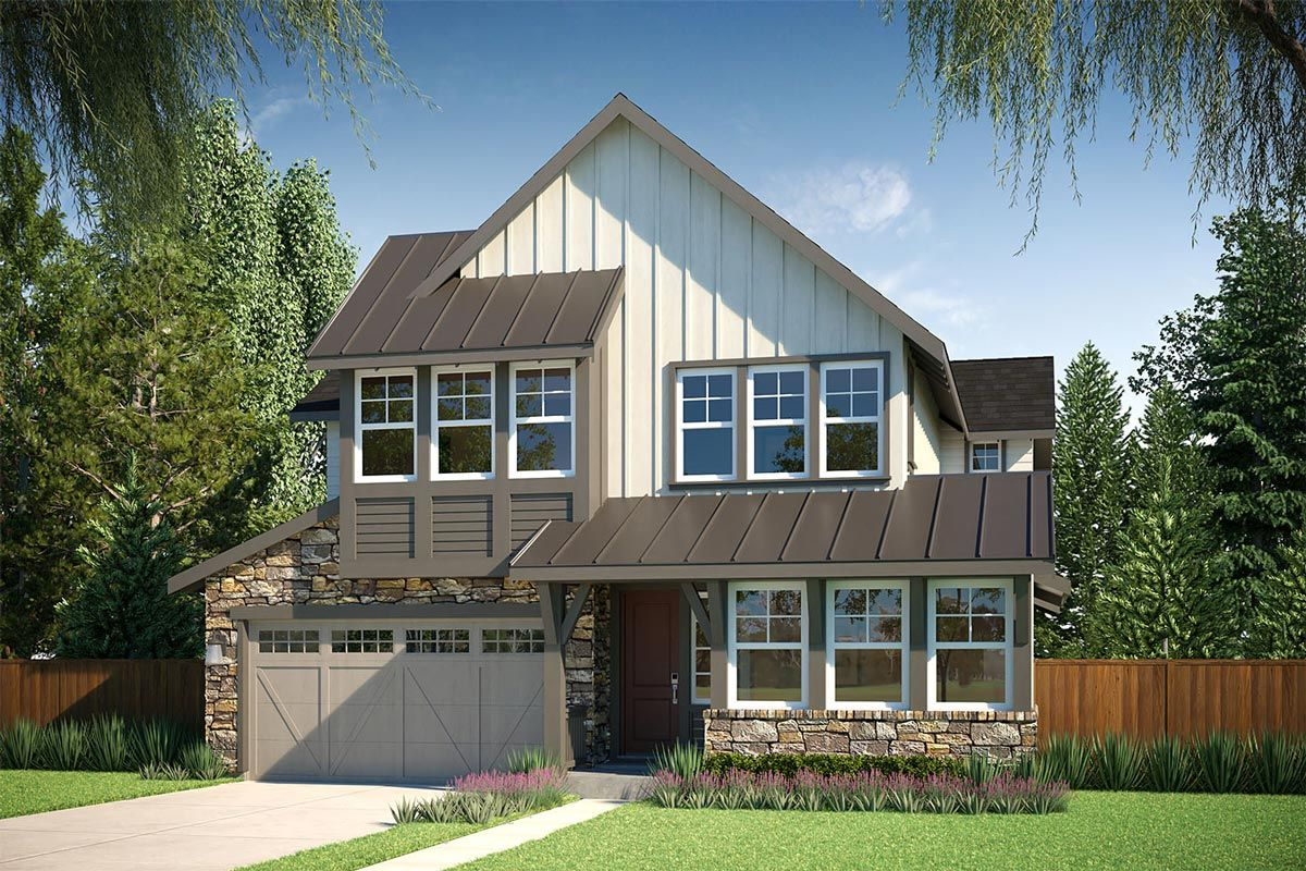 Exterior featured in the Residence M-300 By Quadrant Homes in Seattle-Bellevue, WA
