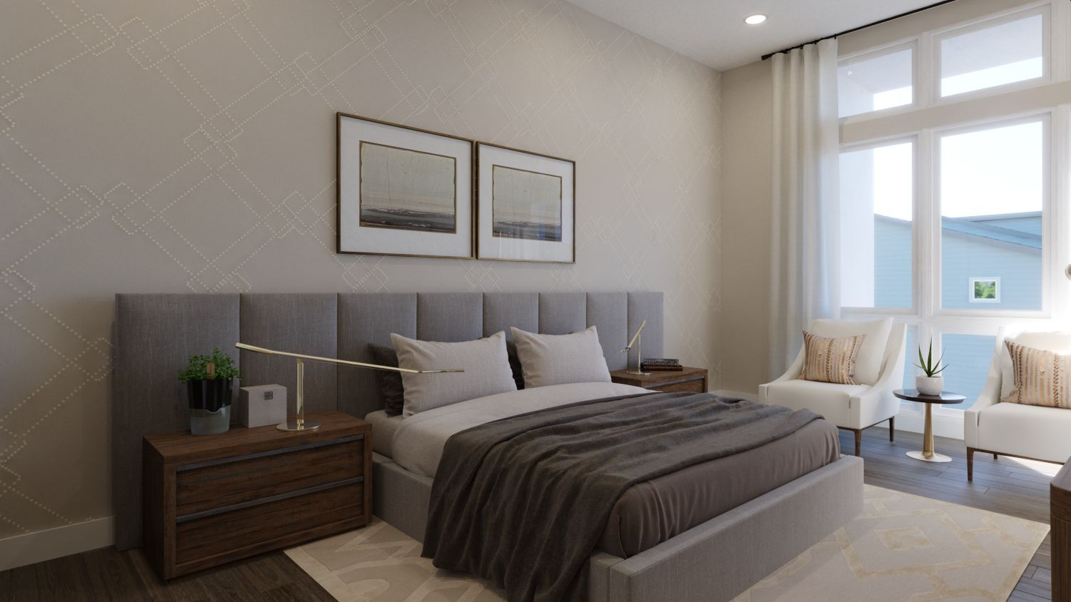Bedroom featured in the Plan 4 By Quadrant Homes in Seattle-Bellevue, WA