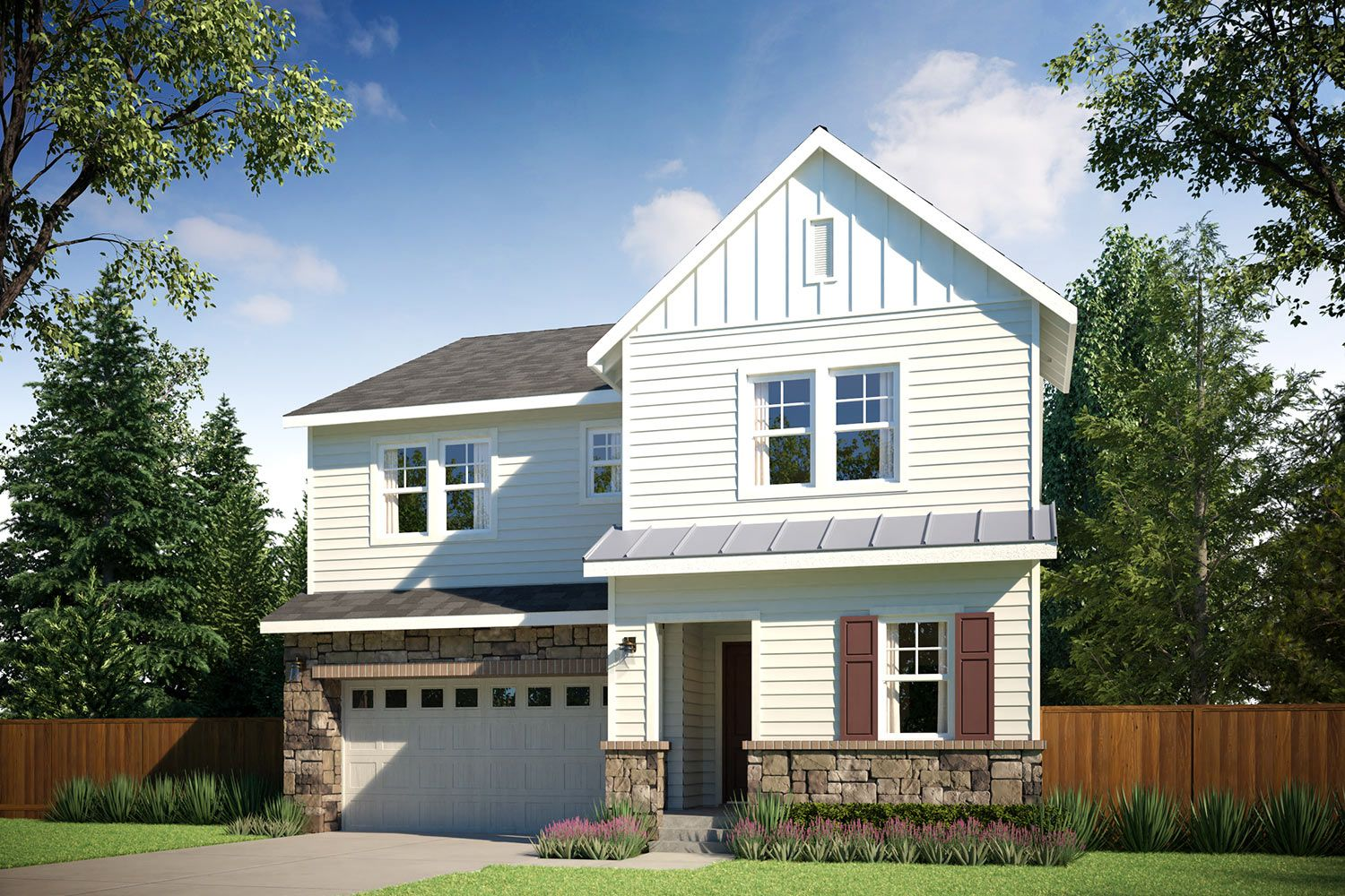 Exterior featured in the Residence O-300 By Quadrant Homes in Seattle-Bellevue, WA