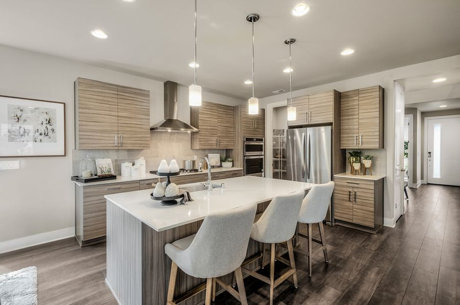Kitchen featured in the Residence P-260 By Quadrant Homes in Seattle-Bellevue, WA