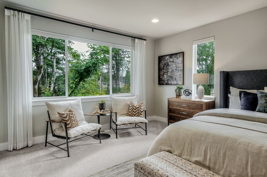 Bedroom featured in the Residence P-260 By Quadrant Homes in Seattle-Bellevue, WA