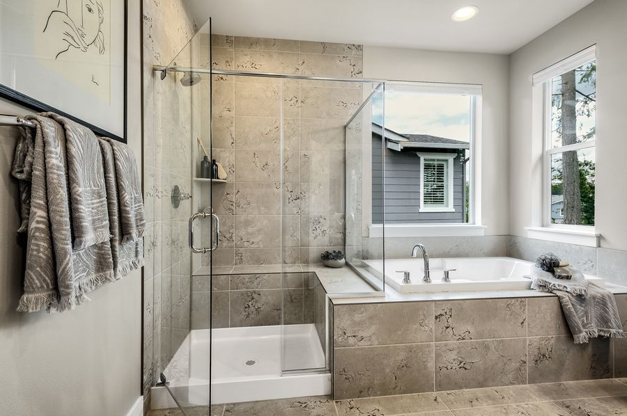 Bathroom featured in the Residence P-260 By Quadrant Homes in Seattle-Bellevue, WA