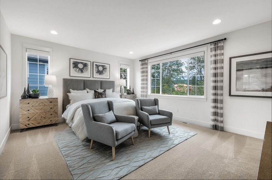 Bedroom featured in the Residence O-290 By Quadrant Homes in Seattle-Bellevue, WA