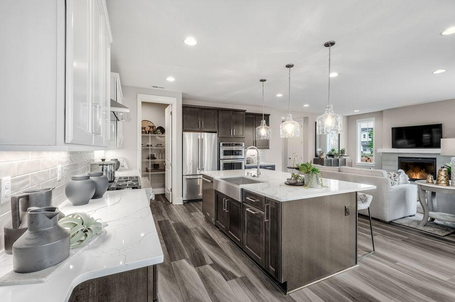 Kitchen featured in the Residence O-260 By Quadrant Homes in Seattle-Bellevue, WA