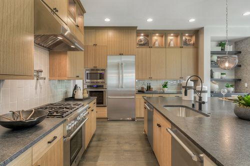 Kitchen-in-Residence B-440-at-Winslow Grove-in-Bainbridge Island