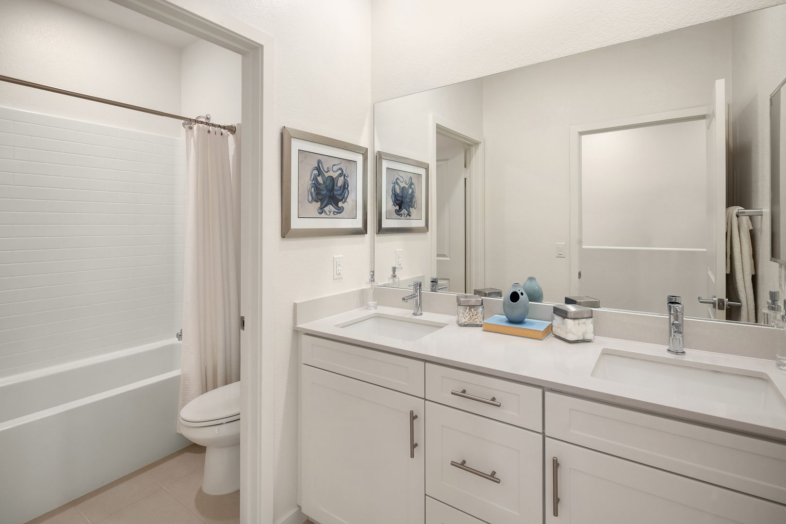 Bathroom featured in the Plan 1 By RC Homes Inc in Los Angeles, CA