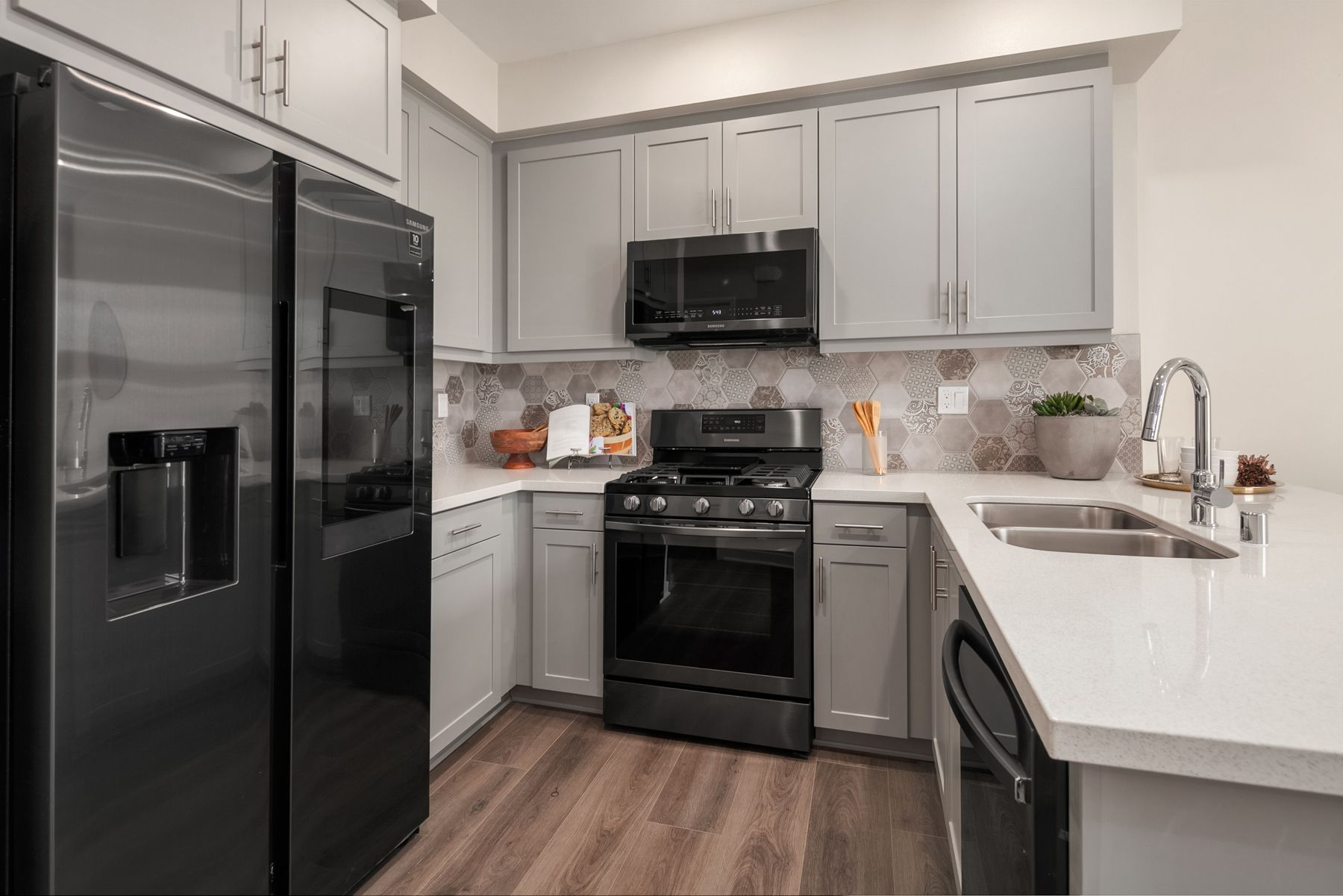 Kitchen featured in the Floor Plan 2 By RC Homes Inc in Riverside-San Bernardino, CA