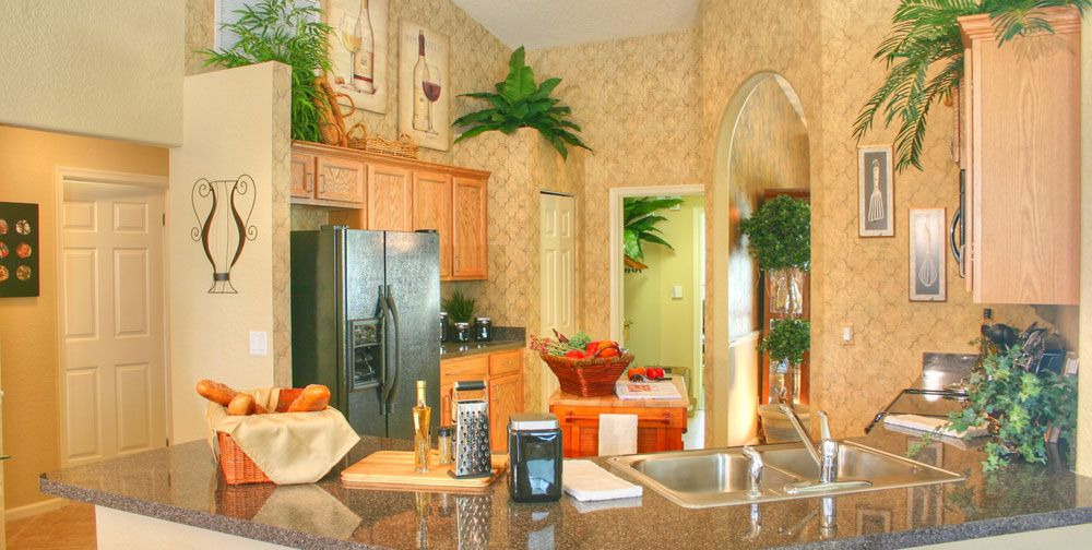 Kitchen featured in the Wildflower 5/3 By RJM Homes in Palm Beach County, FL