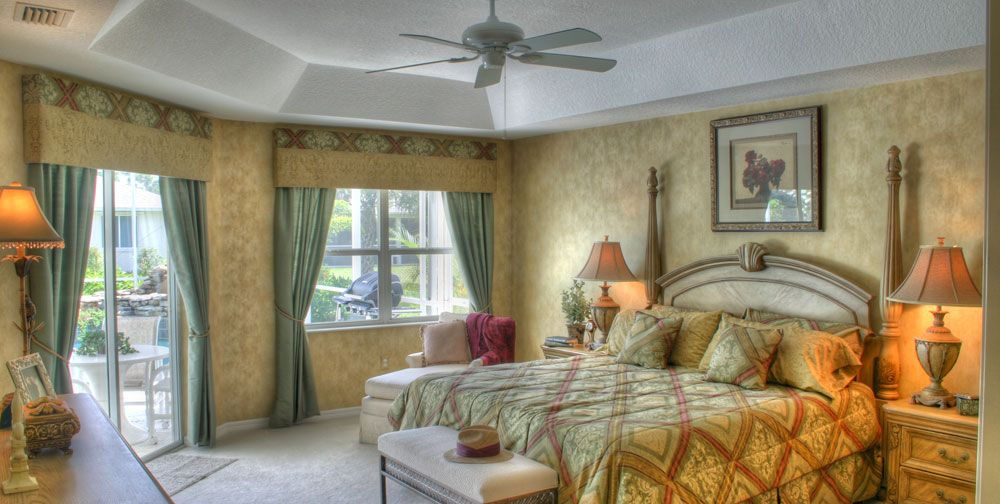 Bedroom featured in the Wildflower 4/3 By RJM Homes in Martin-St. Lucie-Okeechobee Counties, FL
