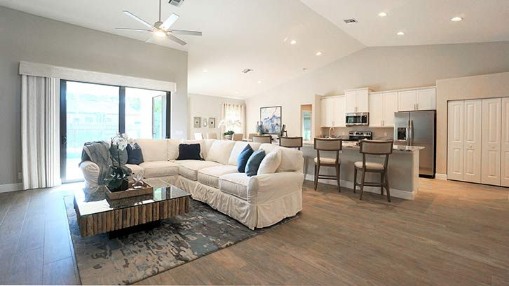 Living Area featured in The Sage By RJM Homes in Palm Beach County, FL