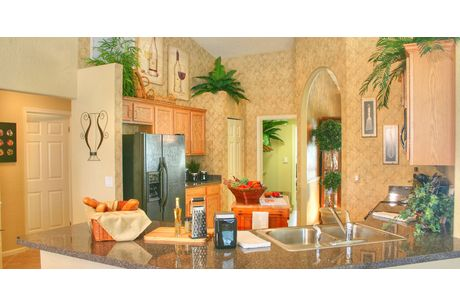 Kitchen-in-Wildflower 5/3-at-St Lucie/Martin Counties-Custom Homes-in-Port Saint Lucie