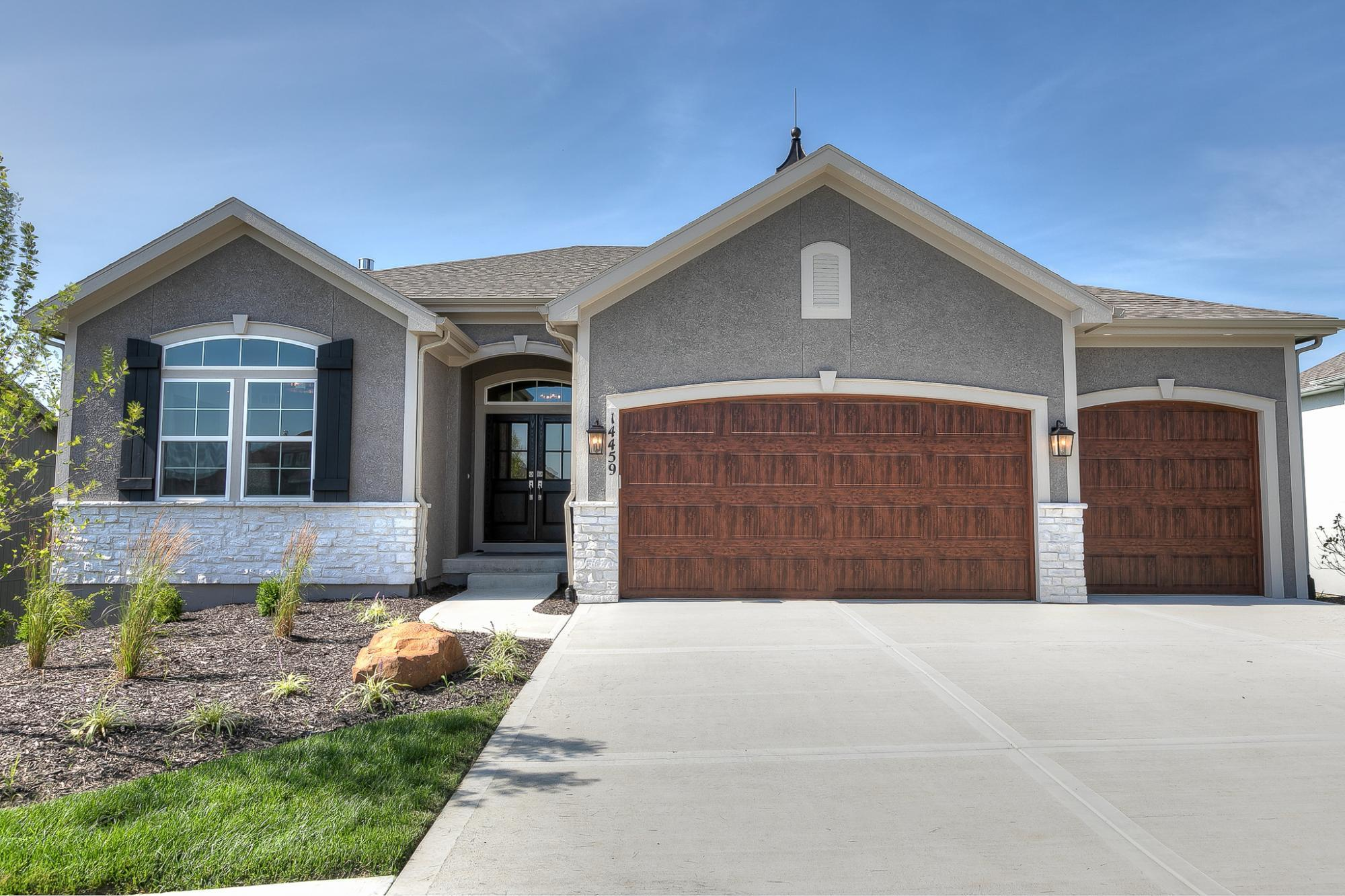 Exterior featured in The Azalea 2 By ROESER HOMES  in Kansas City, KS