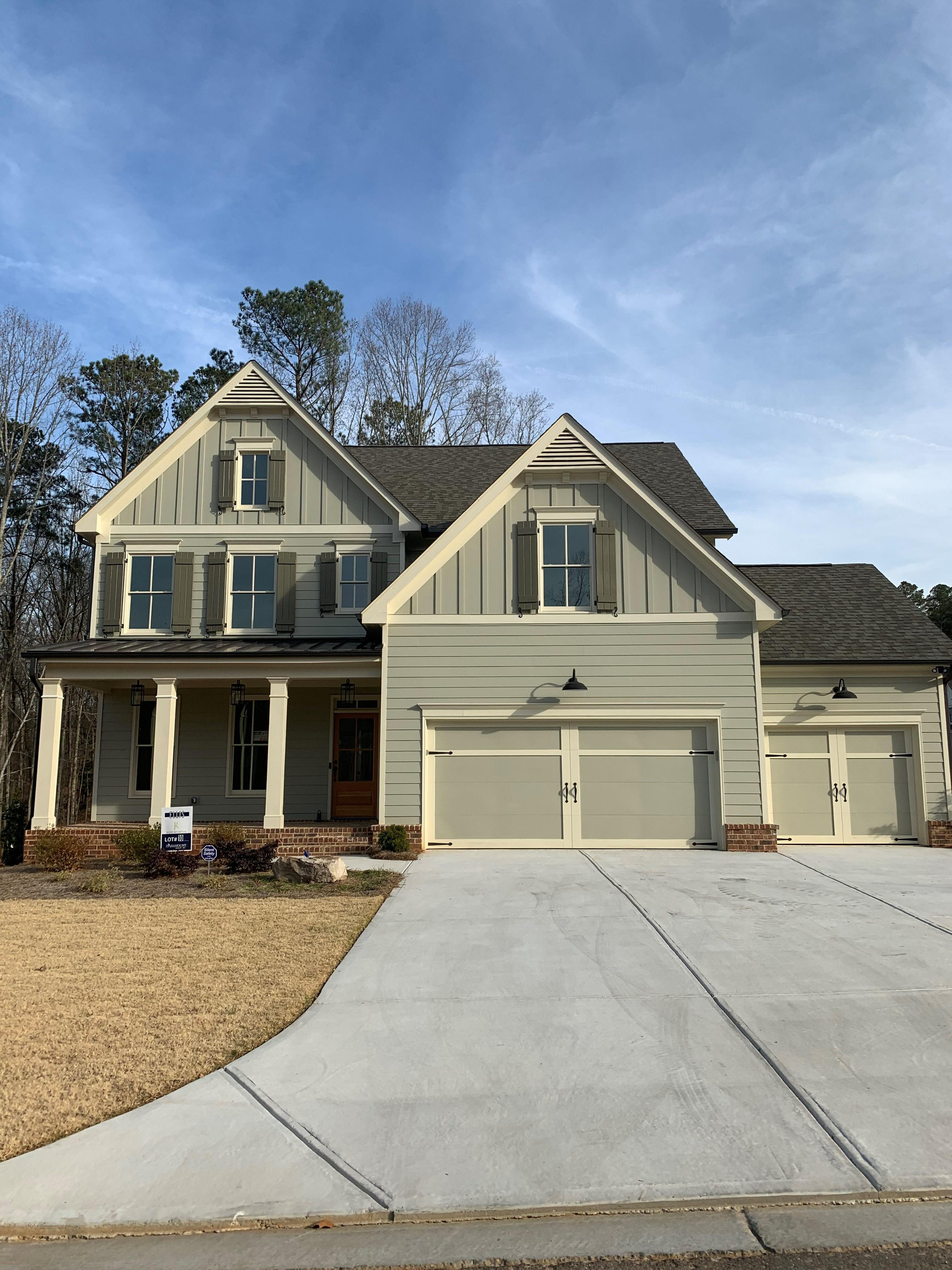 Exterior featured in the Woodbrook XL By Raines Residential in Atlanta, GA