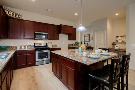 Kitchen-in-The Cambridge-at-Monarch Country Living-in-Newman