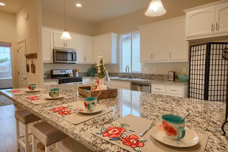 Kitchen-in-The Kensington-at-Monarch Country Living-in-Newman