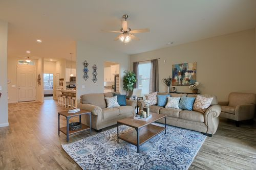 Greatroom-and-Dining-in-The Kensington-at-Monarch Country Living-in-Newman