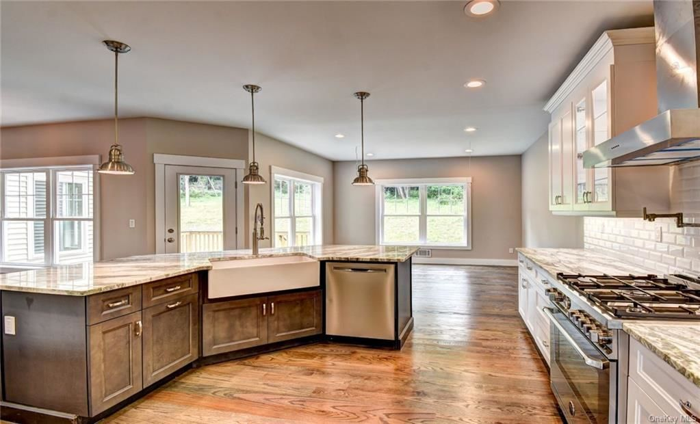 Kitchen featured in the Chateau Morgaux By Rand Realty in Orange County, NY
