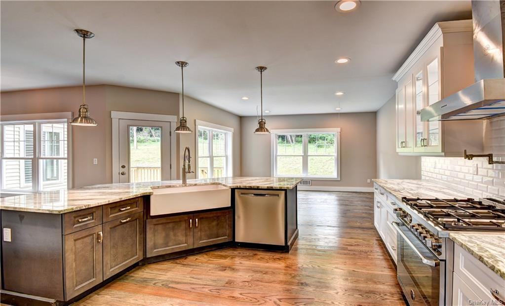 Kitchen featured in the Chateau LaFite By Rand Realty in Orange County, NY