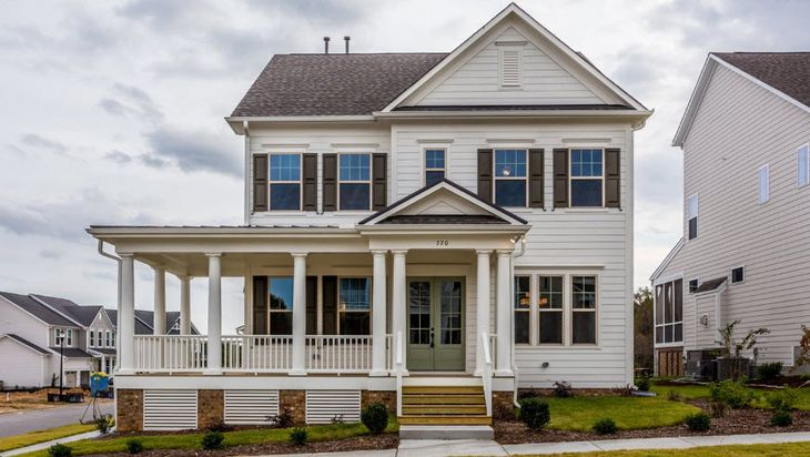 The Chesapeake John Wieland Homes Plan Wake Forest